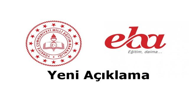Milli Eğitim Bakanlığı'ndan EBA ile ilgili önemli açıklama