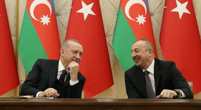 Cumhurbaşkanı Erdoğan Aliyev'le görüştü!
