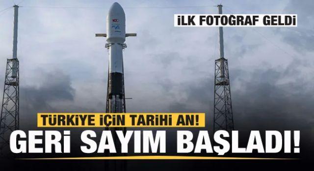 Türkiye için tarihi an! İlk fotoğraf geldi! Peş peşe açıklamalar