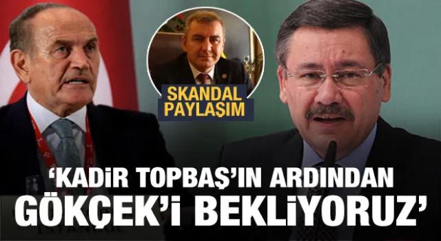 Antalya Barosu Başkanı Balkan Topbaş'ın ardından Gökçek'in ölümünü istedi