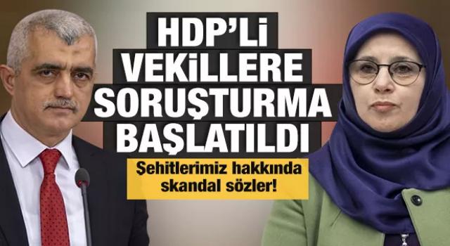 HDP'li vekiller Hüda Kaya ve Ömer Faruk Gergerlioğlu hakkında soruşturma başlatıldı