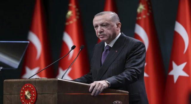 """Cumhurbaşkanı Erdoğan'dan """"MAVİ VATAN"""" Açıklaması"""