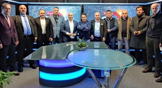 Medya Sözcüleri Kanal 34'de bir araya geldi
