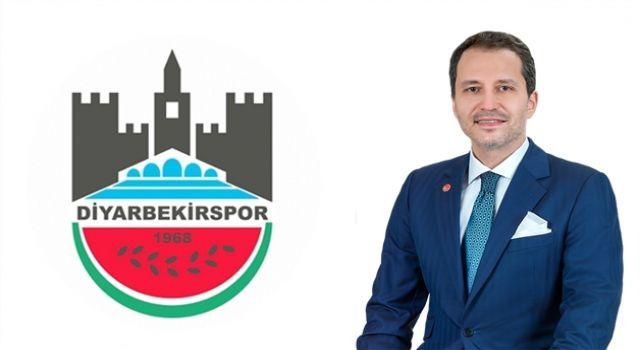 Erbakan'dan Diyarbekirspor'a Kutlama Mesajı