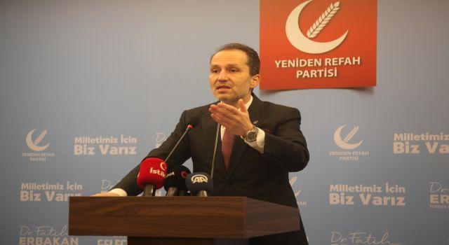 Fatih Erbakan: Vatandaşa kaşıkla verip kepçeyle alma dönemi devam ediyor