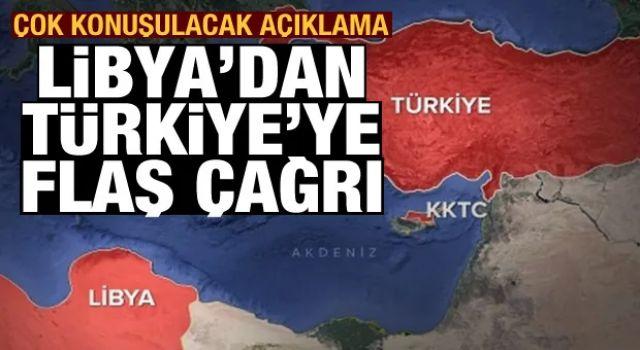 Libya'dan Türkiye'ye son dakika çağrısı