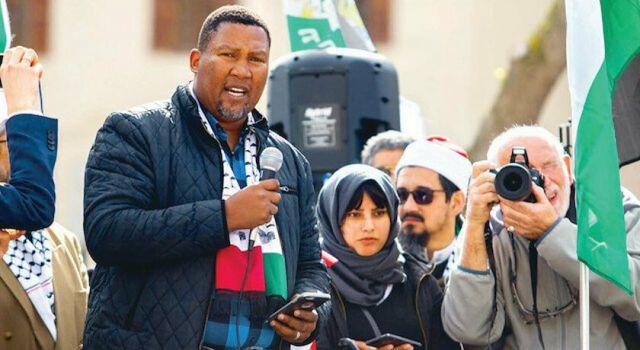 Mandela'nın torunu: Özgür Filistin'i görene kadar durmayacağız