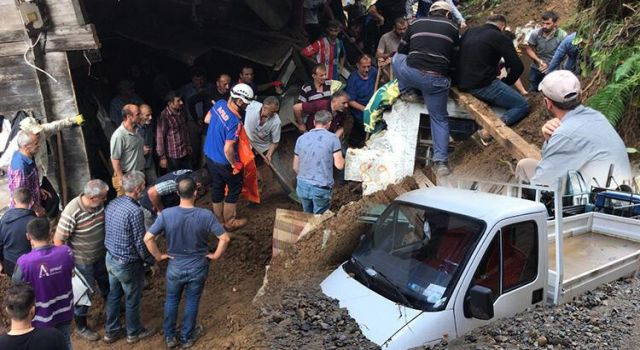 AFAD'dan Rize'ye 5 milyon TL acil yardım ödeneği