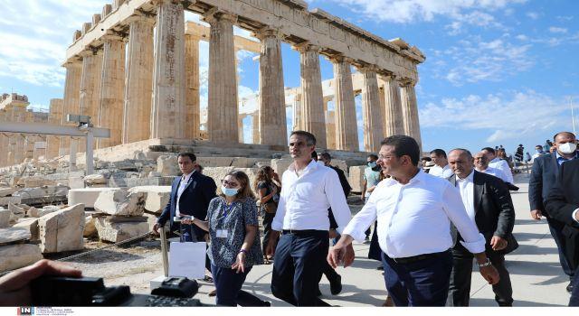 İmamoğlu'nun Atina ziyaretine Yunan basınından yorum: Atalarını ziyarete geldi!