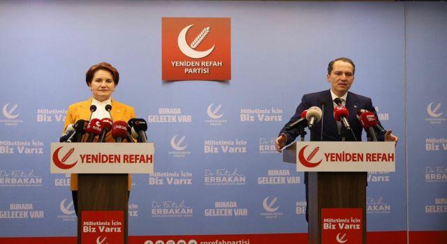 Meral Akşener'den Yeniden Refah lideri Fatih Erbakan'a ziyaret!