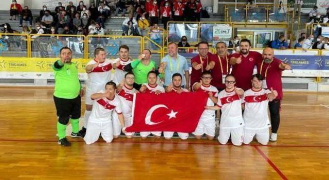 Özel Sporcular Down Futsal Milli Takımı, Avrupa şampiyonu!