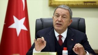 Bakan Akar'dan Doğu Akdeniz mesajı: Herkesin bilmesini istiyoruz...
