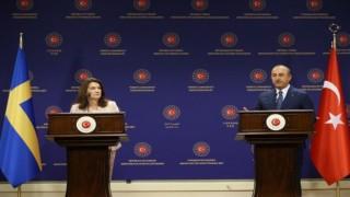 Çavuşoğlu'nun canlı yayında ders verdiği İsveçli Bakan dönüşte yaşadıklarını anlattı