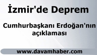 Erdoğan'dan son dakika açıklaması