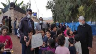 Yeniden Refah Partisi Hatay'da Türkmen ailelere yardım düzenledi