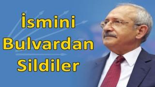 Kılıçdaroğlu'nun İsmini Bulvardan Sildiler