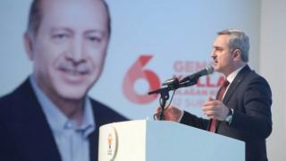 AK Parti İstanbul'da bayrak değişimi