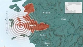 İzmir'de korkutan depremler! 5. kez sallandı, İstanbul'dan da hissedildi