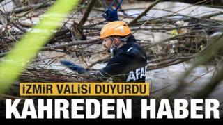 İzmir'deki sel felaketinden kahreden haber!