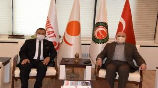 Yeniden Refah'tan HAK-İŞ'e 'yeni anayasa' ziyareti