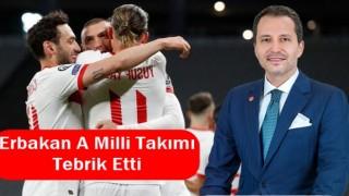 Fatih Erbakan'dan A Milli Takıma Tebrik Mesajı