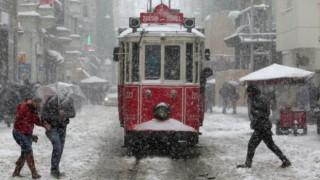 İstanbul'da kar yeniden başlad