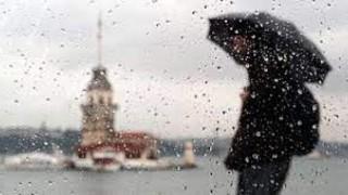 İstanbul'da kuvvetli yağış!