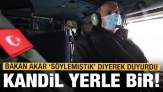 Son dakika! Bakan Akar 'Söylemiştik' diyerek duyurdu! PKK'ya büyük darbe