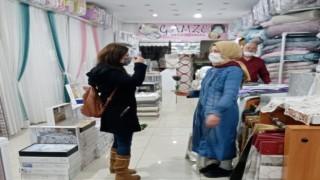 Yeniden Refah Partisi 8 Mart Dünya Kadınlar gününde girişimci kadın esnafları ziyaret etti