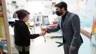 Yeniden Refah Partisi Iğdır Teşkilatı Sağlık Çalışanlarını Ziyaret Etti
