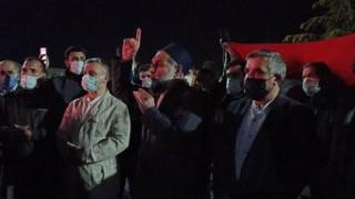 Erbakan Vakfı ve Yeniden Refah Partisi İsrail'i Protesto etti
