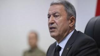 Hulusi Akar: Bugün Bir Mağarada 7 Terörist Daha Etkisiz Hâle Getirildi
