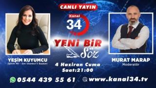 Eğitim Mil-Sen İstanbul İl Başkanı Kanal 34 Tv''de