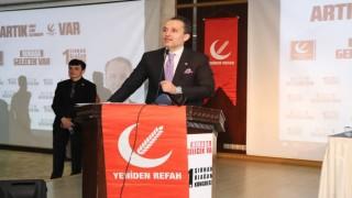 Fatih Erbakan Şırnak'a çıkarma yaptı