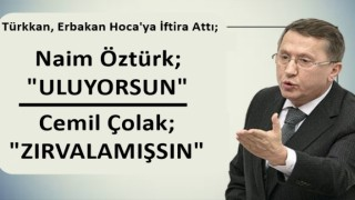 Erbakan Hoca'ya İftira atan İyi Partili Türkkan'a sert tepki.