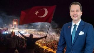 "Fatih Erbakan: ""Bu millet haine fırsat vermez"""