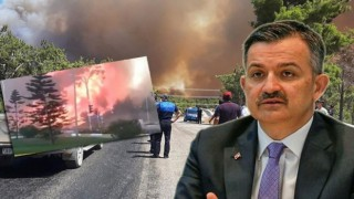 Bakan Pakdemirli, yangınlarla ilgili durum iyiye doğru gidiyor.