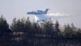 Kahramanmaraş'ta yangın söndürme uçağı düştü! Acı haber duyuruldu