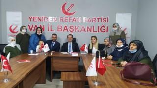 Fatih Erbakan'dan Van'da kardeşlik ve birlik mesajı
