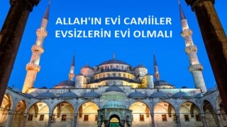 ALLAH'IN EVİ CAMİİLER EVSİZLERİN EVİ OLMALI! EVSİZLERE KARŞI 4 MAYMUNU OYNAMAK ATEŞTİR TÜRKİYE AİLE MECLİSİ DÜNYA EVSİZLER GÜNÜ