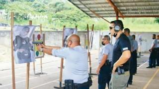 Panama polisi Filistinlileri hedef yaptı