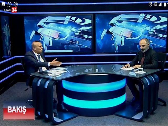 KANAL34 BAKIŞ PROGRAMI Cesur Düşünce Partisi Genel Başkanı Abdulsamd Elçi