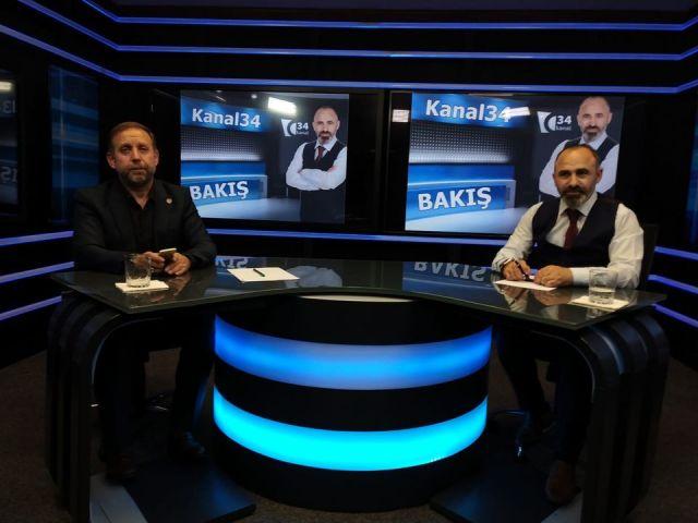 KANAL34 BAKIŞ PROGRAMI... Yeniden Refah Partisi Genel Başkan Yardımcısı Cemil ÇOLAK