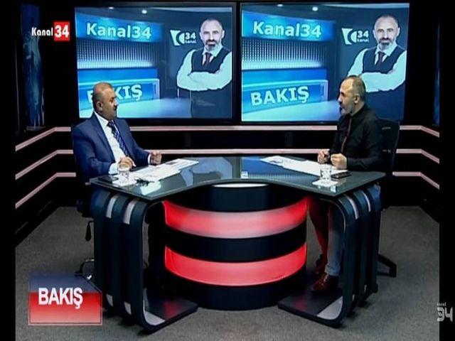 KANAL34 BAKIŞ PROGRAMI İSTAD Başkanı Sefer Karakoyunlu