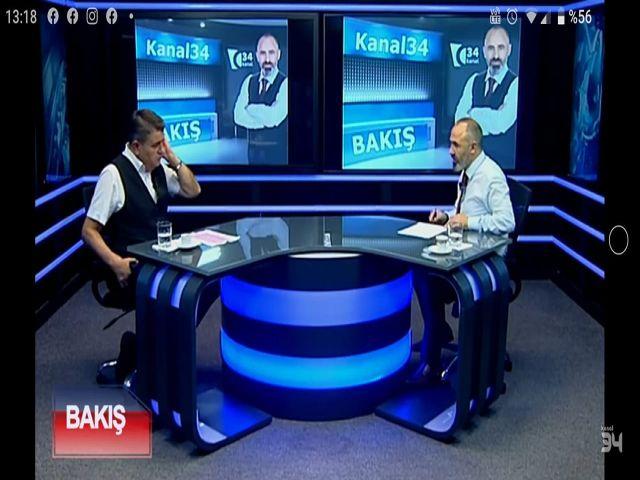 KANAL34 BAKIŞ PROGRAMI Engelliler Derneği Genel Başkanı (AVENDER) Ahmet Vardar